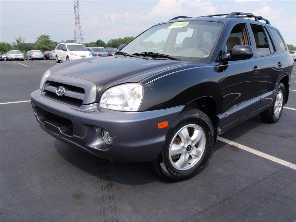 offers used car for sale 2006 hyundai santa fe gls sport utility 7 690. Black Bedroom Furniture Sets. Home Design Ideas