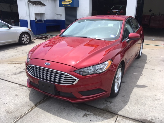 Used Car - 2018 Ford Fusion SE Hybrid for Sale in Staten Island, NY