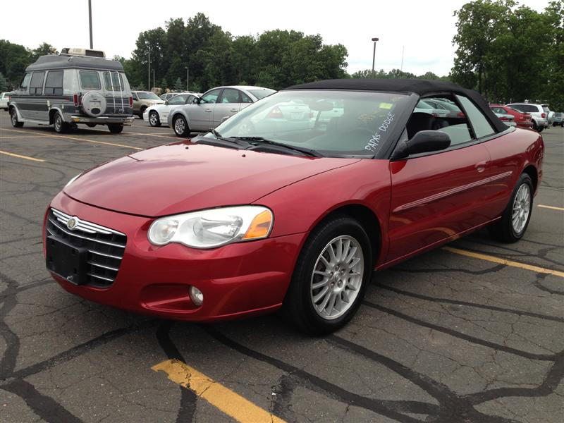 offers used car for sale 2004 chrysler sebring touring convertible. Black Bedroom Furniture Sets. Home Design Ideas