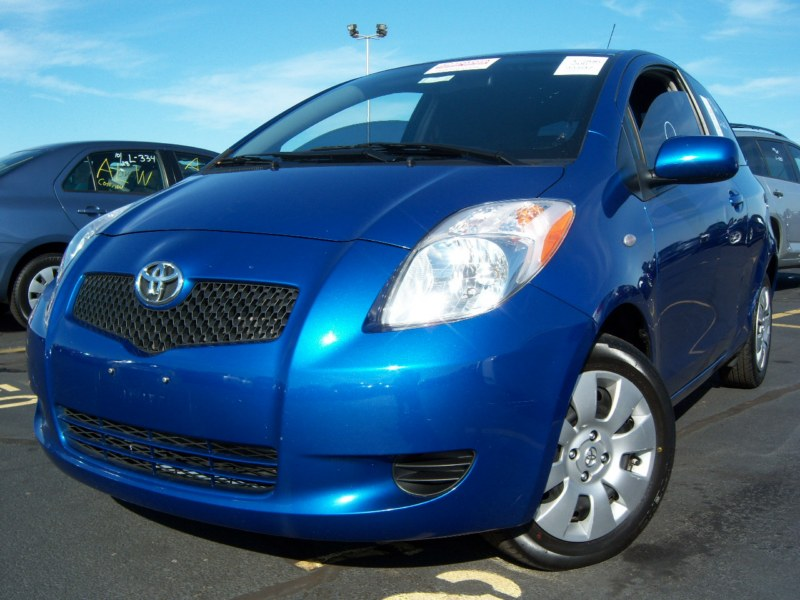 offers used car for sale 2008 toyota yaris 2 door coupe 7. Black Bedroom Furniture Sets. Home Design Ideas