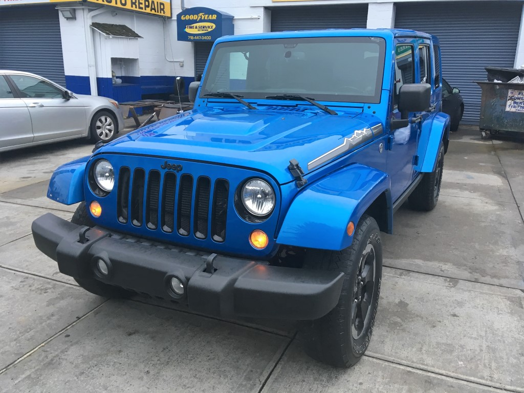 Used Car - 2014 Jeep Wrangler Unlimited Polar 4x4 for Sale in Staten Island, NY