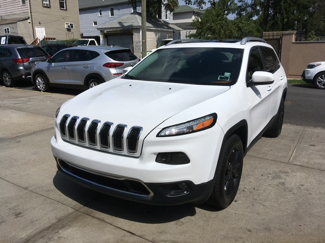 Used Car - 2016 Jeep Cherokee Limited 4x4 for Sale in Staten Island, NY