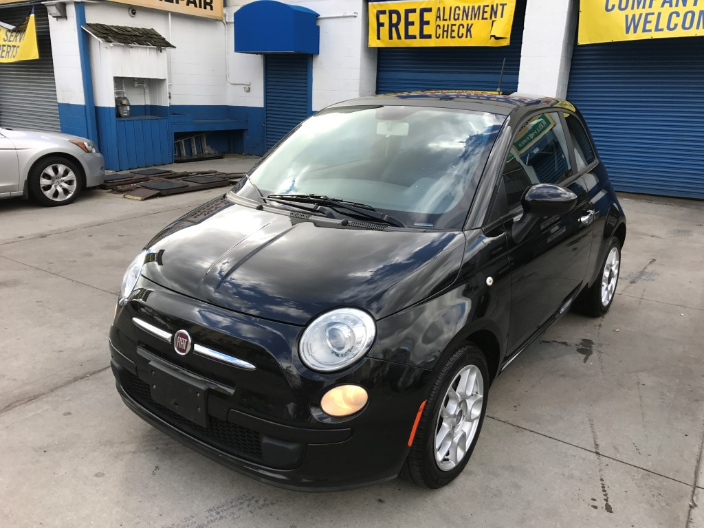 used 2012 fiat 500 pop hatchback 5. Black Bedroom Furniture Sets. Home Design Ideas