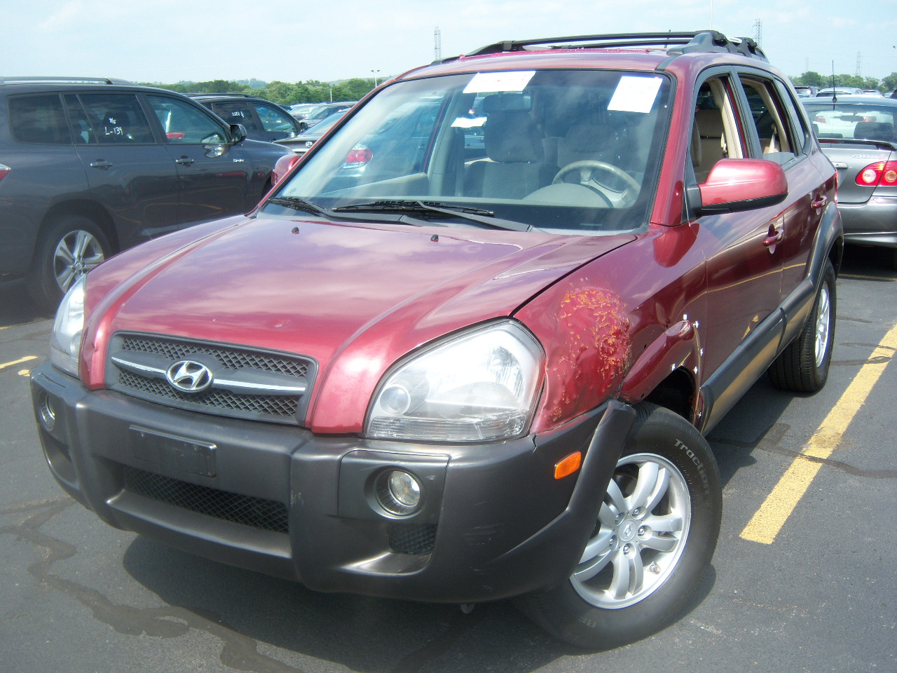 offers used car for sale 2006 hyundai tucson gls sport utility 8. Black Bedroom Furniture Sets. Home Design Ideas