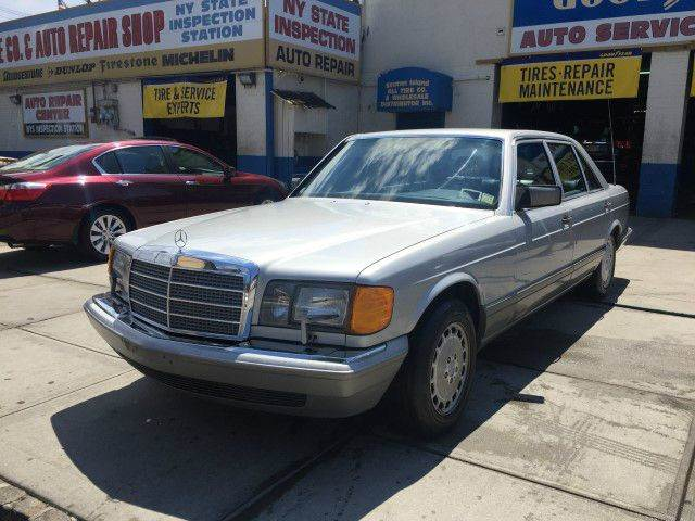 Used Car - 1987 Mercedes-Benz 560 for Sale in Staten Island, NY
