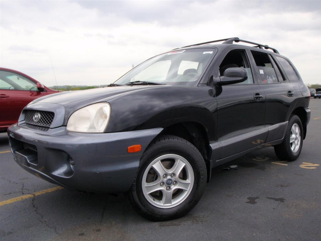 offers used car for sale 2003 hyundai santa fe gl sport utility 4 990. Black Bedroom Furniture Sets. Home Design Ideas