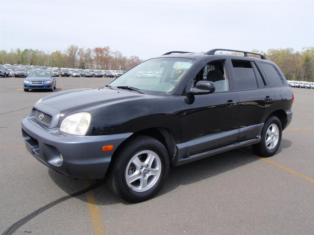 offers used car for sale 2004 hyundai santa fe gls sport utility 4 990. Black Bedroom Furniture Sets. Home Design Ideas