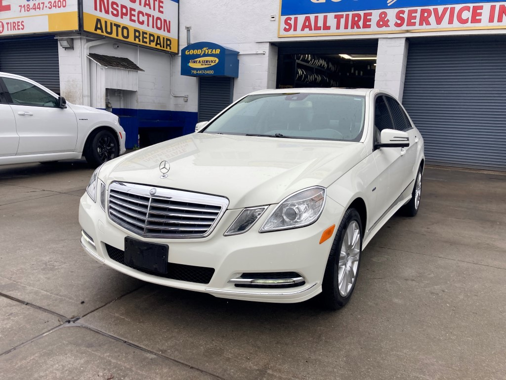 Used Car - 2012 Mercedes-Benz E350 Luxury 4MATIC AWD for Sale in Staten Island, NY