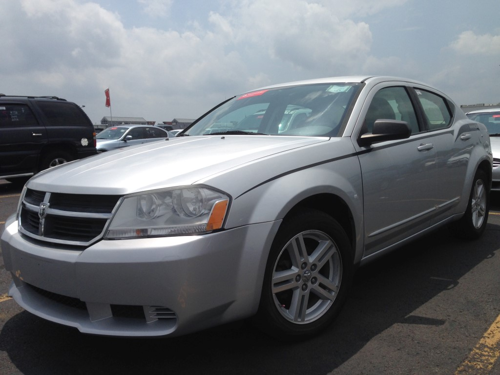 used 2008 dodge avenger sxt 4