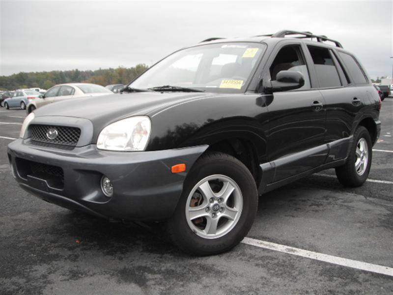 used 2004 hyundai santa fe 4x4 sport utility 4. Black Bedroom Furniture Sets. Home Design Ideas