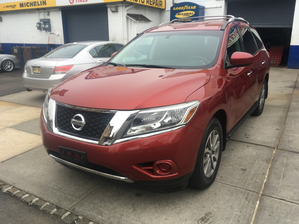 Used Car - 2015 Nissan Pathfinder S 4x4 for Sale in Staten Island, NY