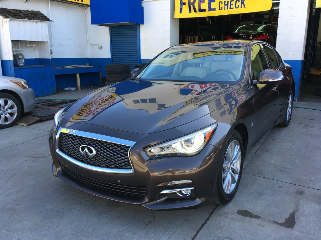 Used Car - 2014 Infiniti Q50 Premium AWD for Sale in Staten Island, NY