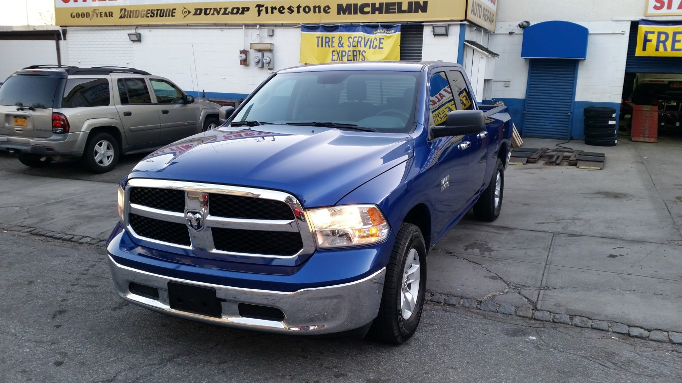 Used Car - 2017 RAM 1500 SLT 4X4 QUAD CAB for Sale in Staten Island, NY