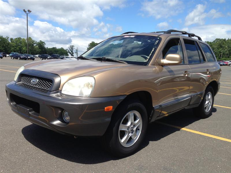 offers used car for sale 2004 hyundai santa fe gls suv 4 in. Black Bedroom Furniture Sets. Home Design Ideas