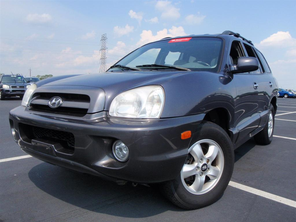 offers used car for sale 2005 hyundai santa fe gls sport utility 6 690. Black Bedroom Furniture Sets. Home Design Ideas