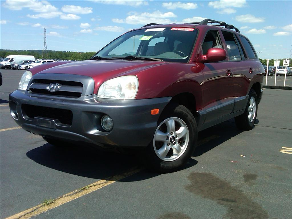 offers used car for sale 2005 hyundai santa fe gls sport utility 6 990. Black Bedroom Furniture Sets. Home Design Ideas
