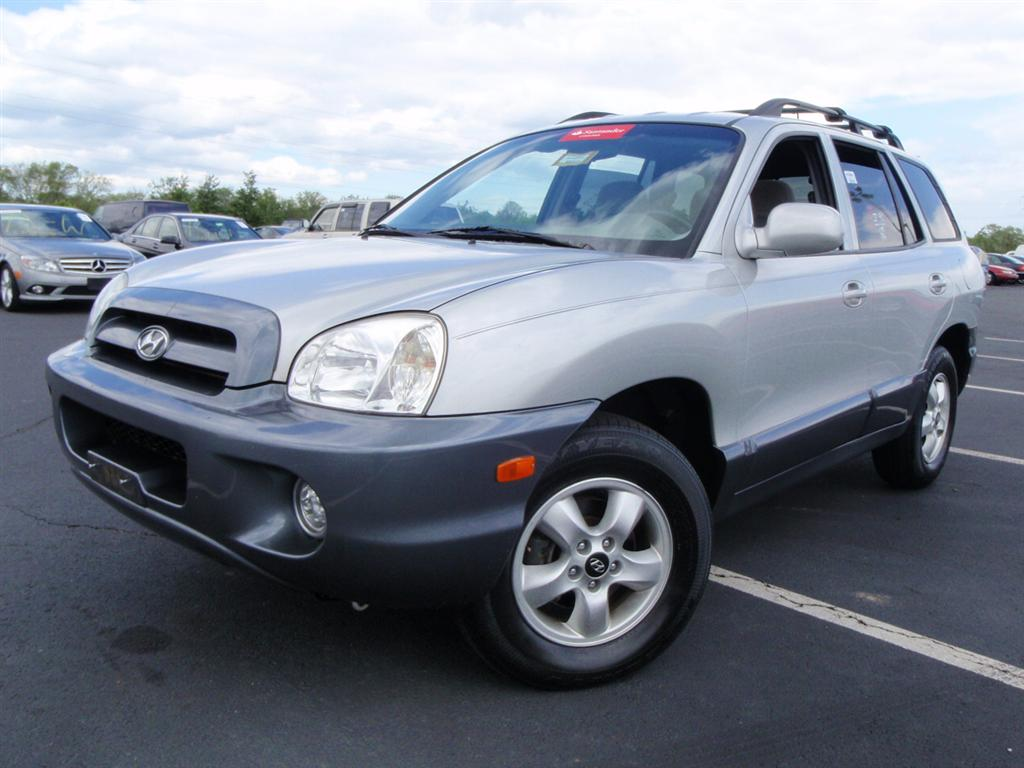 offers used car for sale 2005 hyundai santa fe gls sport utility 6 490