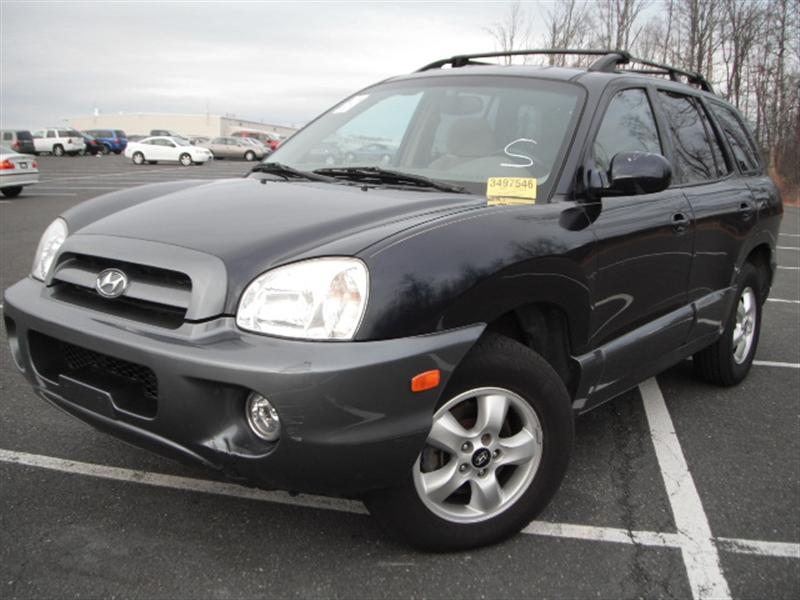 2005 Hyundai Santa Fe Gray 200 Interior And Exterior Images