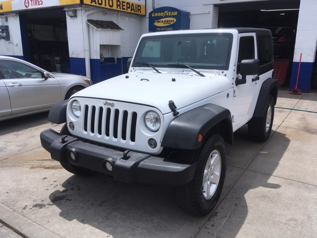 Used Car - 2018 Jeep Wrangler JK Sport 4x4 for Sale in Staten Island, NY