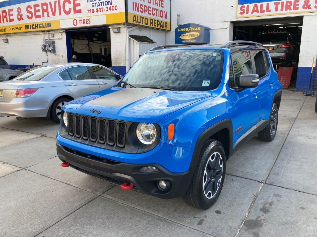 Used Car - 2015 Jeep Renegade Trailhawk 4x4 for Sale in Staten Island, NY