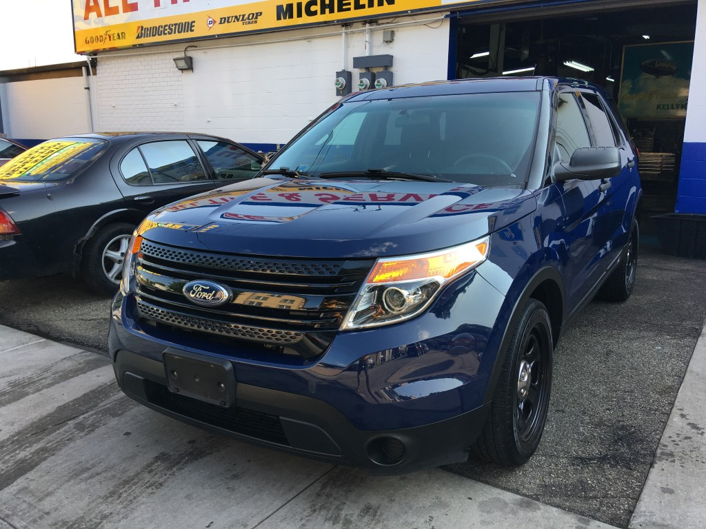 Used Car - 2015 Ford Explorer Police Interceptor AWD for Sale in Staten Island, NY