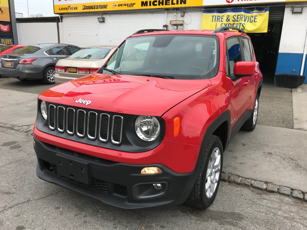 Used Car for sale - 2016 Renegade Limited Latitude 4x4 Jeep  in Staten Island, NY