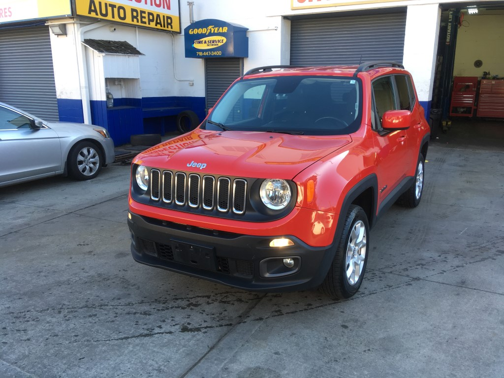 Used Car - 2016 Jeep Renegade Latitude 4x4 for Sale in Staten Island, NY