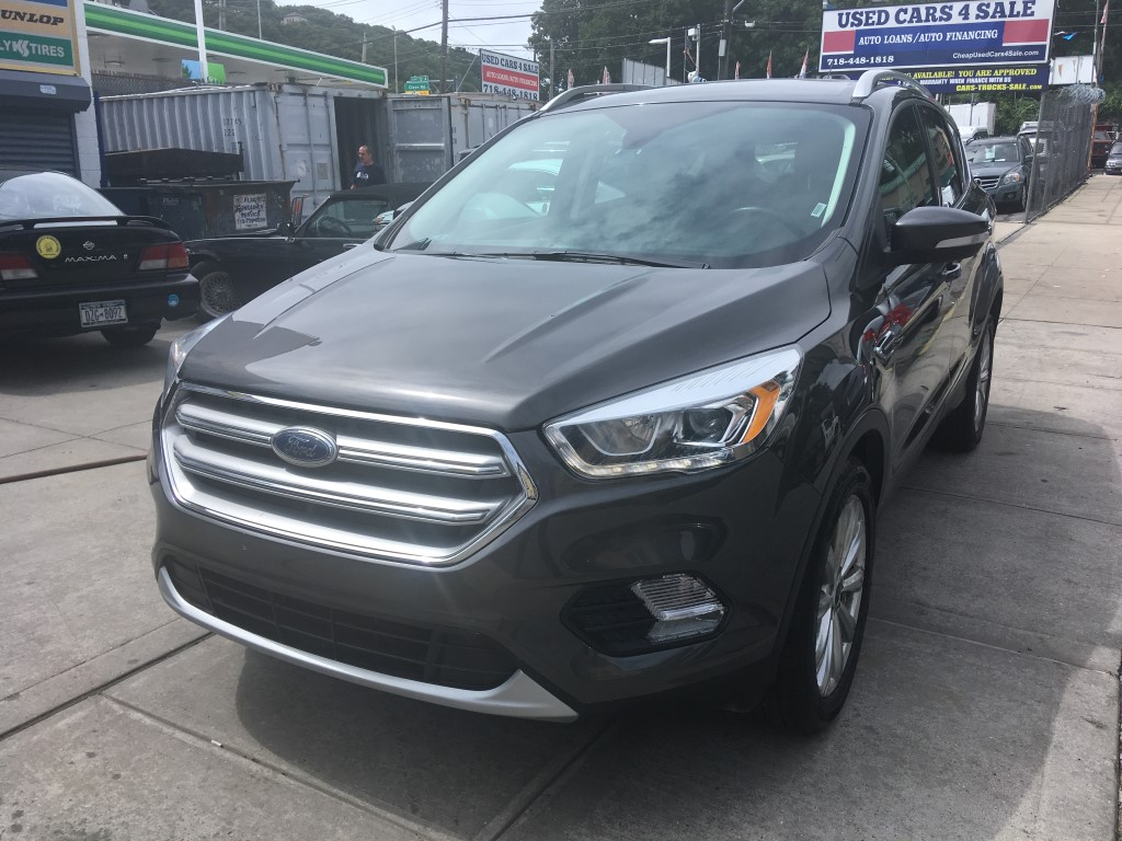Used Car - 2017 Ford Escape Titanium for Sale in Staten Island, NY