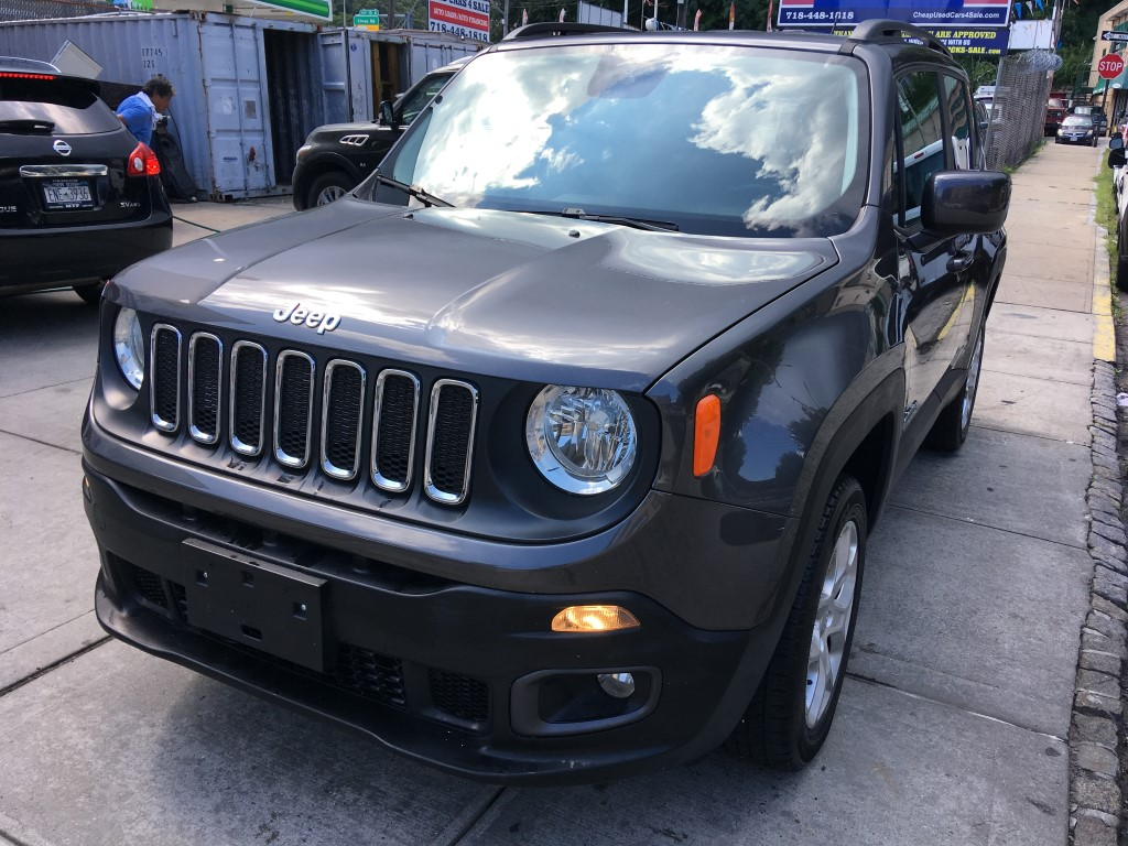 Used Car - 2017 Jeep Renegade Latitude 4x4 for Sale in Staten Island, NY