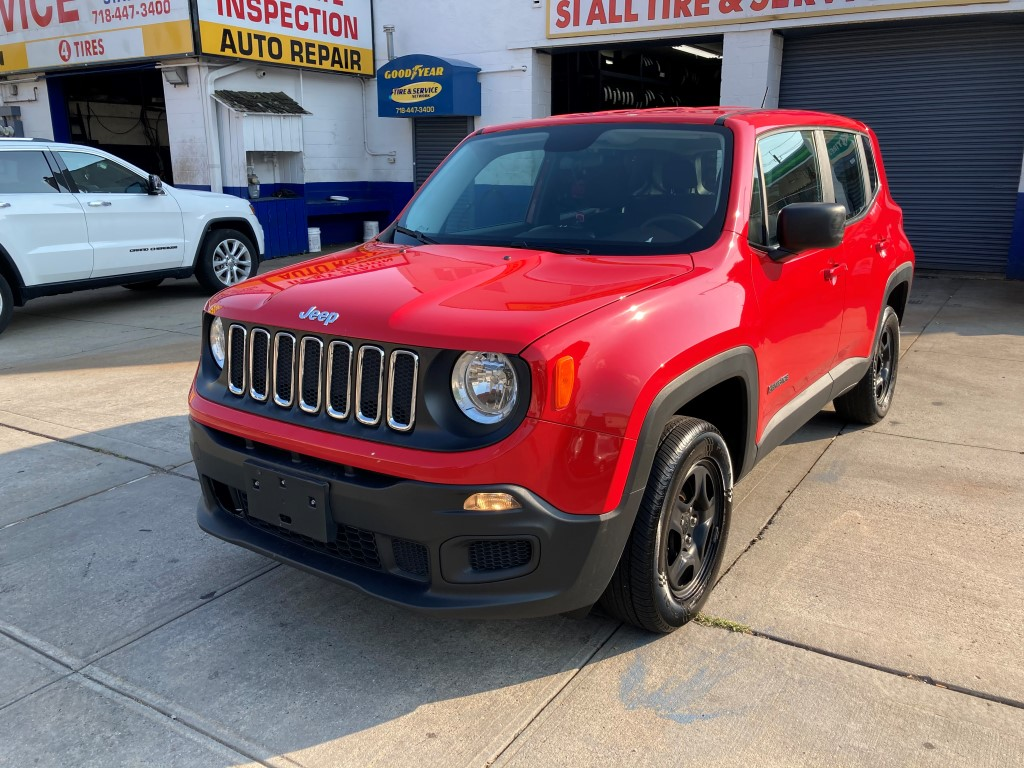 Used Car for sale - 2017 Renegade Sport 4x4 Jeep  in Staten Island, NY