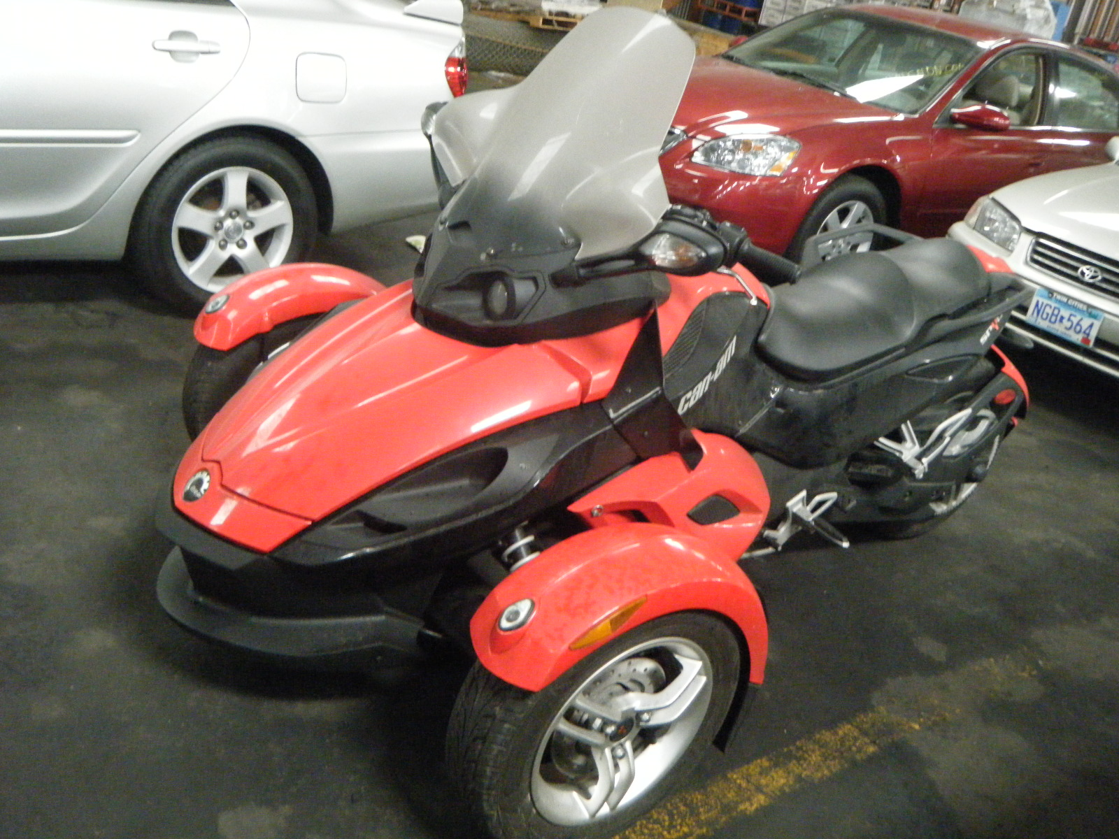 offers used car for sale 2009 can am spyder motorcycle 12. Black Bedroom Furniture Sets. Home Design Ideas