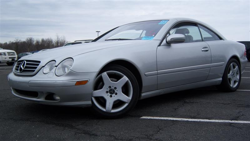 Used 2002 mercedes benz cl500 coupe 10 for Mercedes benz cl coupe for sale