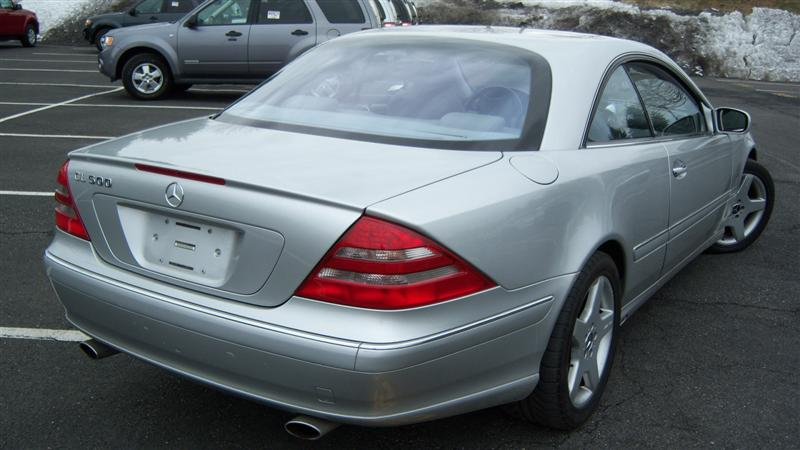 Used 2002 mercedes benz cl500 coupe 10 for Cheap used mercedes benz for sale