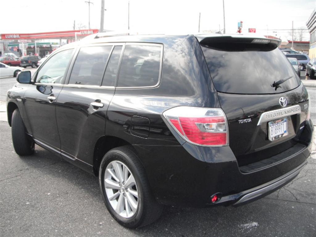 used 2009 toyota highlander hybrid limited sport utility 4wd 24. Black Bedroom Furniture Sets. Home Design Ideas