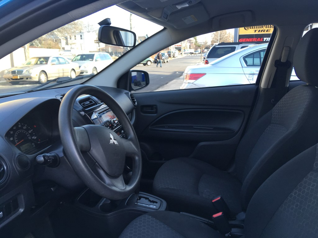 Used - Mitsubishi Mirage DE Hatchback for sale in Staten Island NY