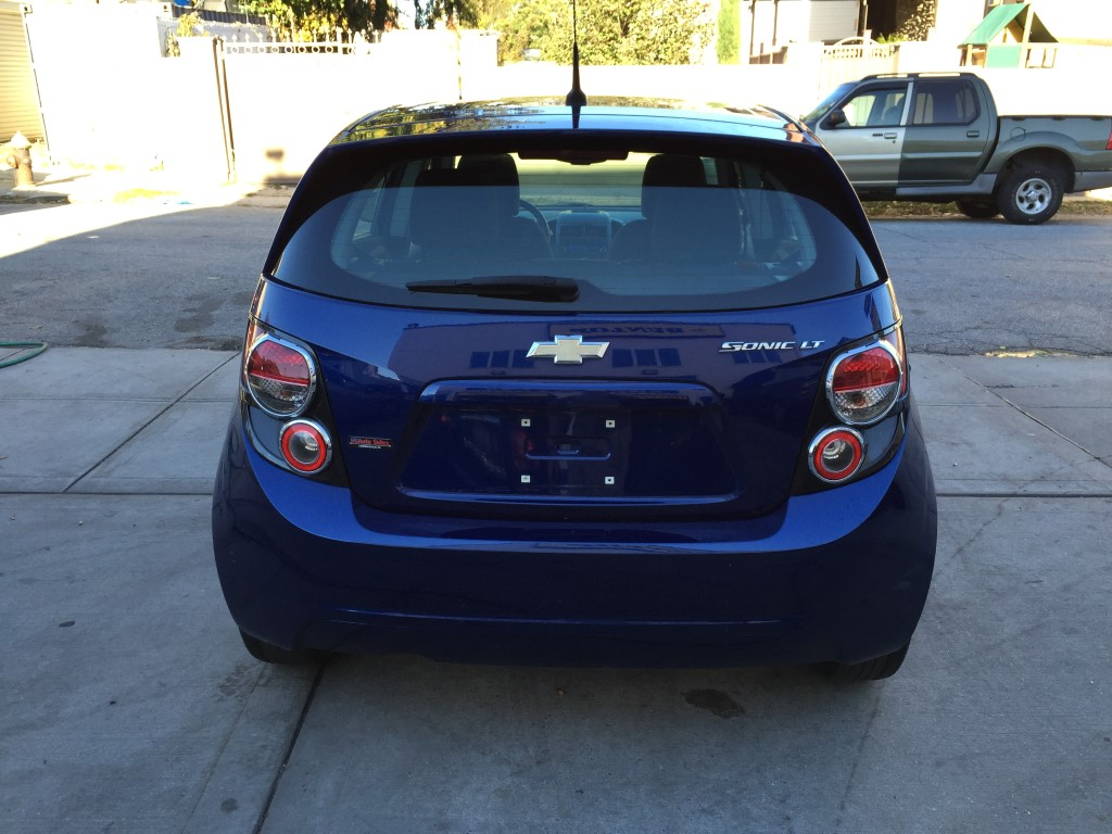 Used 2013 Chevrolet Sonic Lt Hatchback 5 990 00