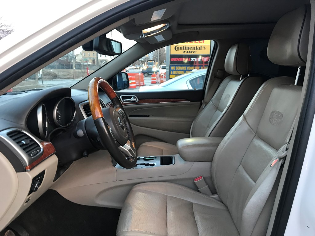 Used - Jeep Grand Cherokee Overland Summit SUV for sale in Staten Island NY