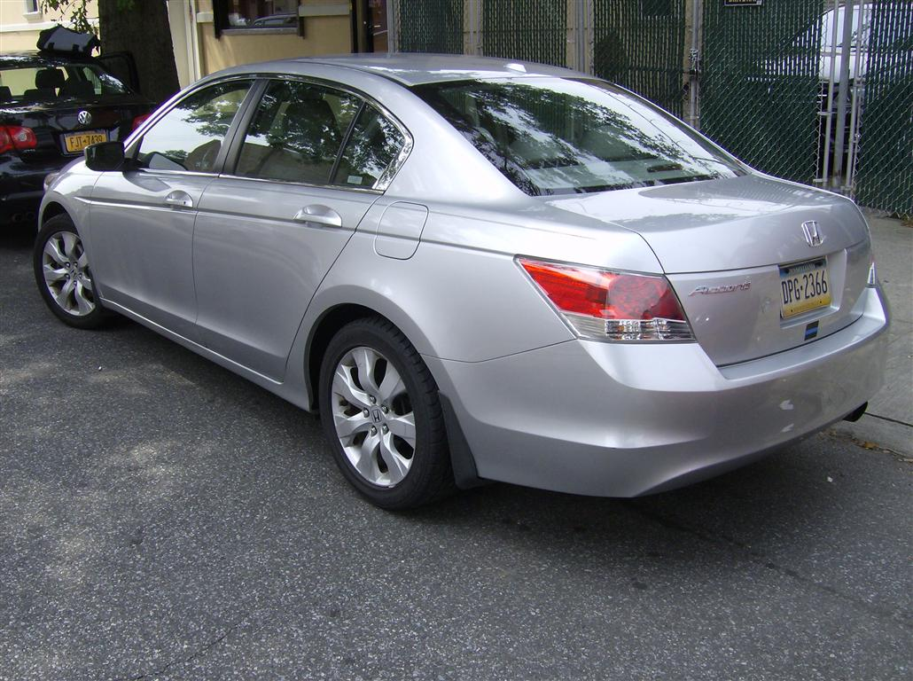 2008 honda accords gas mileage for Used honda accords