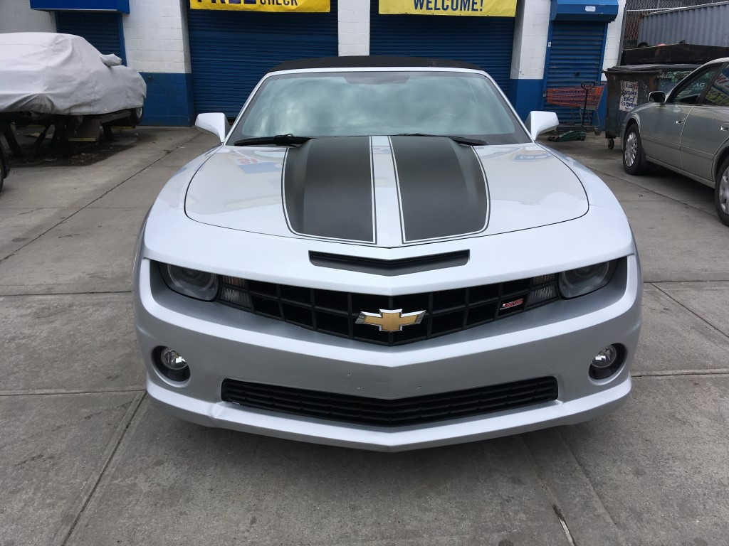 Used 2013 Chevrolet Camaro Ss Convertible 18 990 00