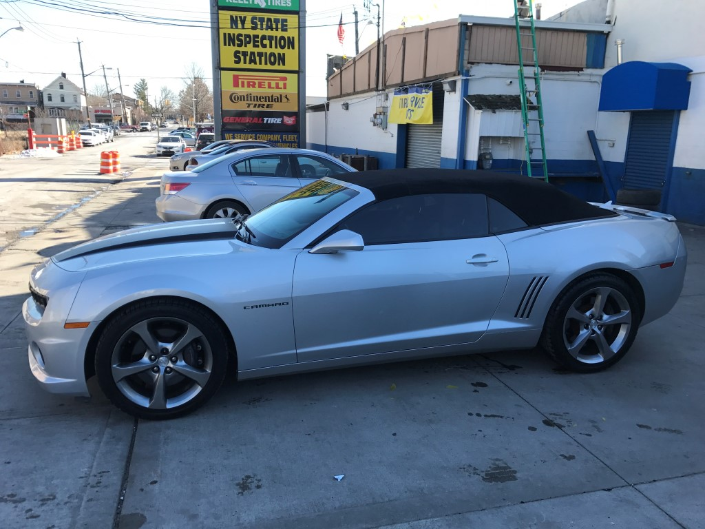 Used - Chevrolet Camaro SS Convertible for sale in Staten Island NY