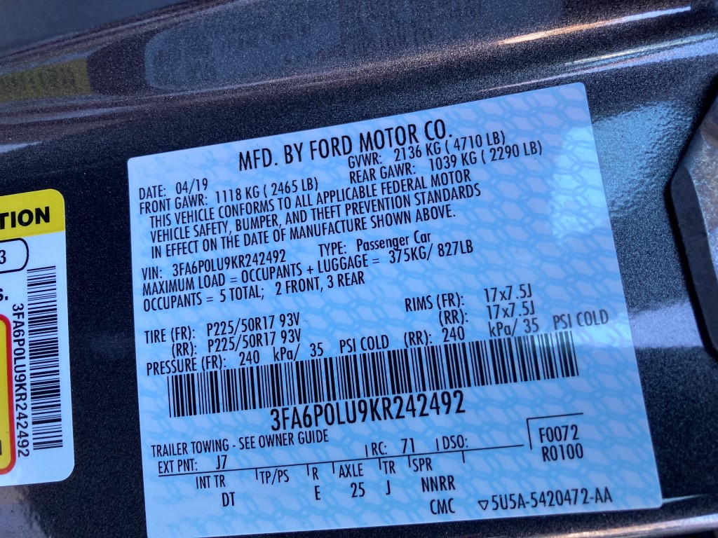 Used - Ford Fusion SE Hybrid Sedan for sale in Staten Island NY