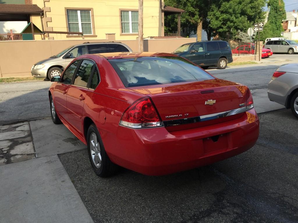 Used 2011 Chevrolet Impala Lt Sedan 5 990 00