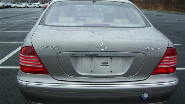 Used 2003 mercedes benz s class s500 4matic awd sedan for Cheap used mercedes benz for sale