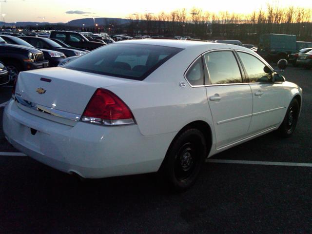 used 2007 chevrolet impala police pkg 4 door sedan 5. Black Bedroom Furniture Sets. Home Design Ideas