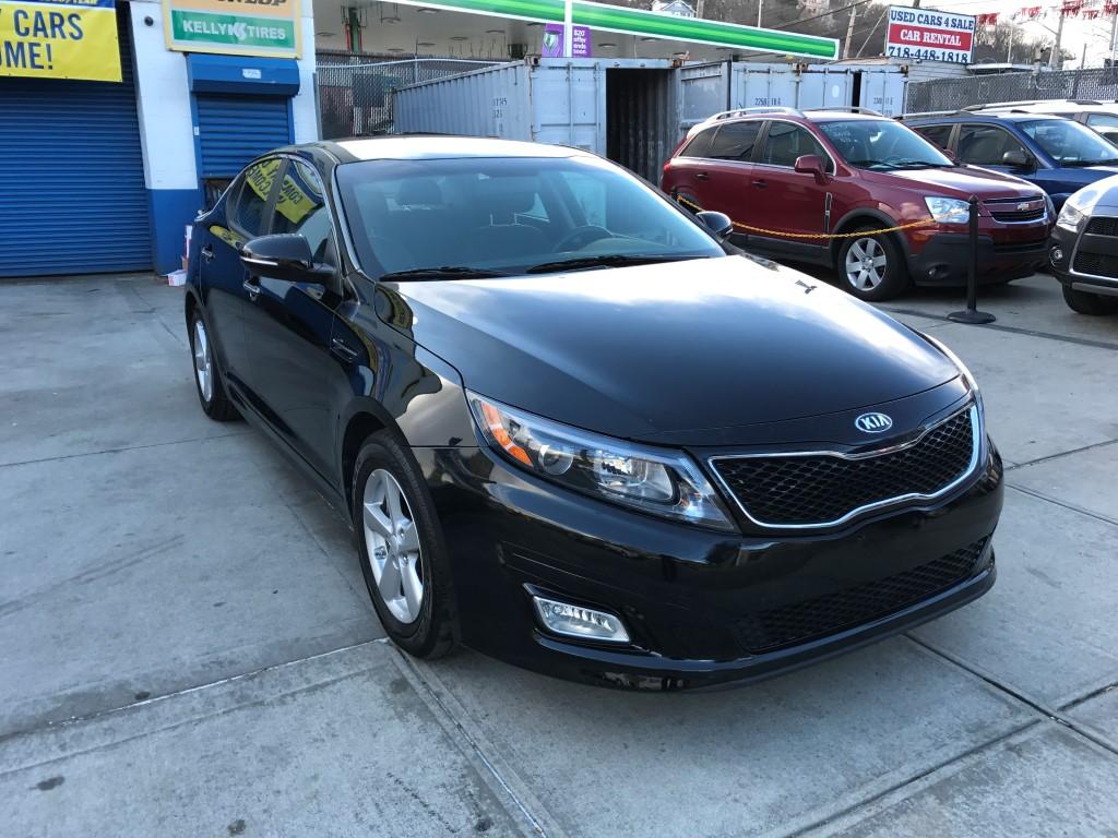 Black Nissan Altima >> Used 2015 Kia Optima LX Sedan $13,490.00
