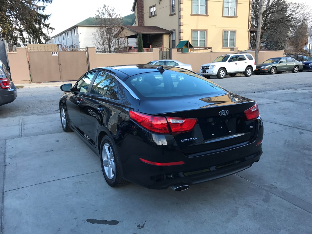 Black Nissan Altima >> Used 2015 Kia Optima LX Sedan $13,490.00