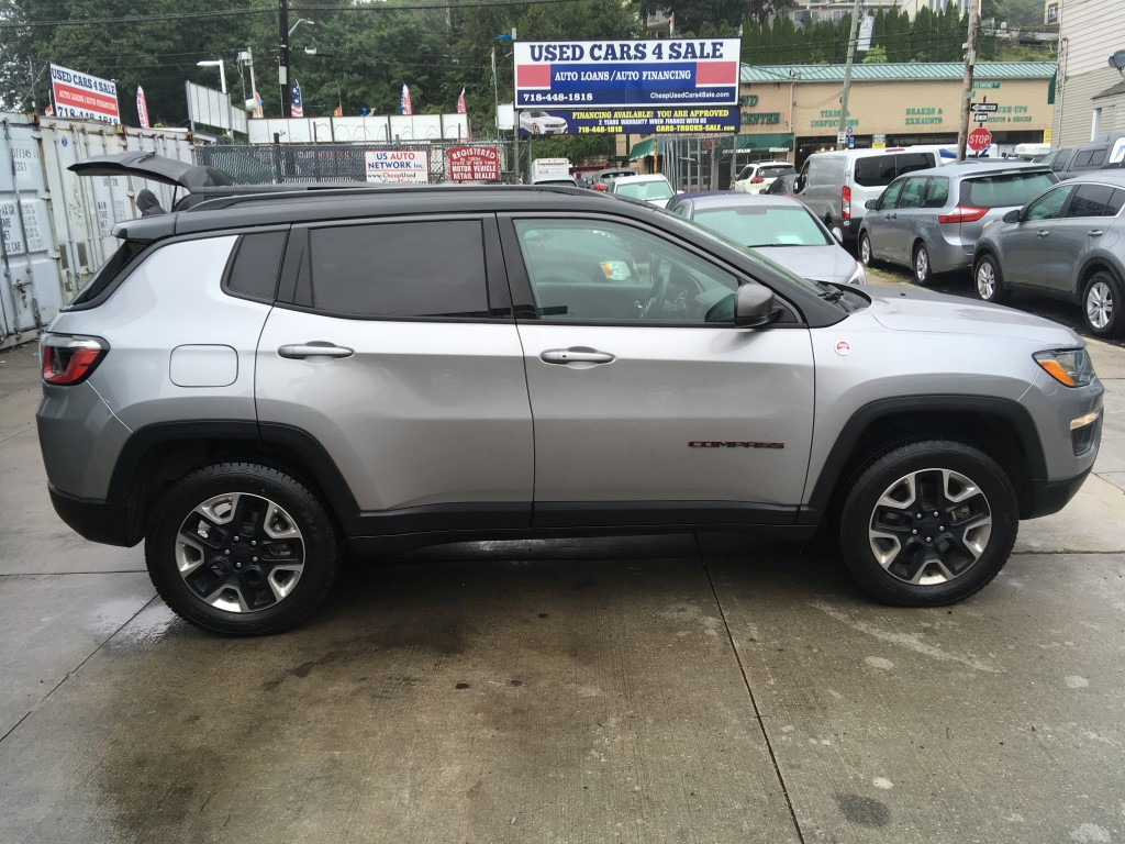 Used - Jeep Compass Trailhawk 4x4 SUV for sale in Staten Island NY