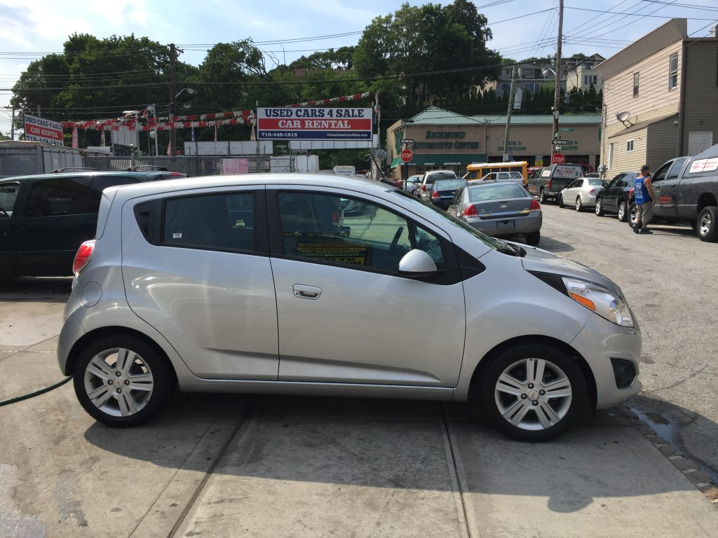 Used Nissan Altima For Sale >> Used 2014 Chevrolet Spark LT Hatchback $6,990.00