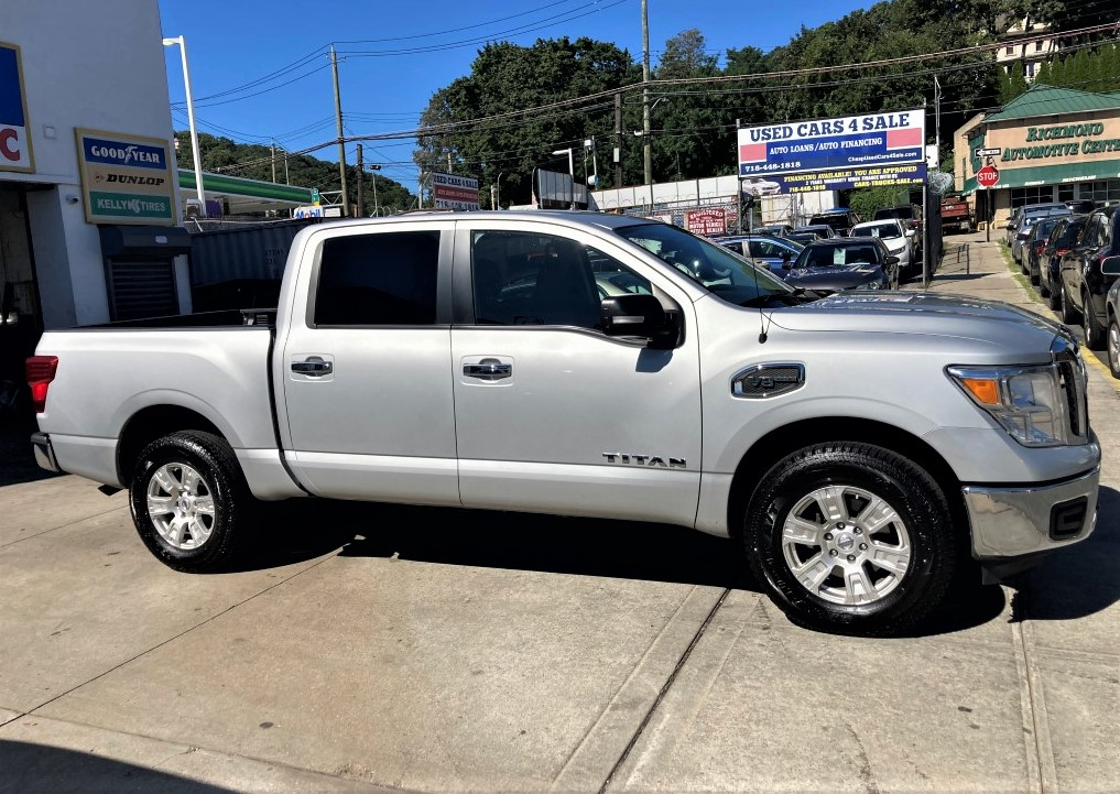 Used - Nissan Titan SV 4x4 Crew Cab Pickup Truck for sale in Staten Island NY