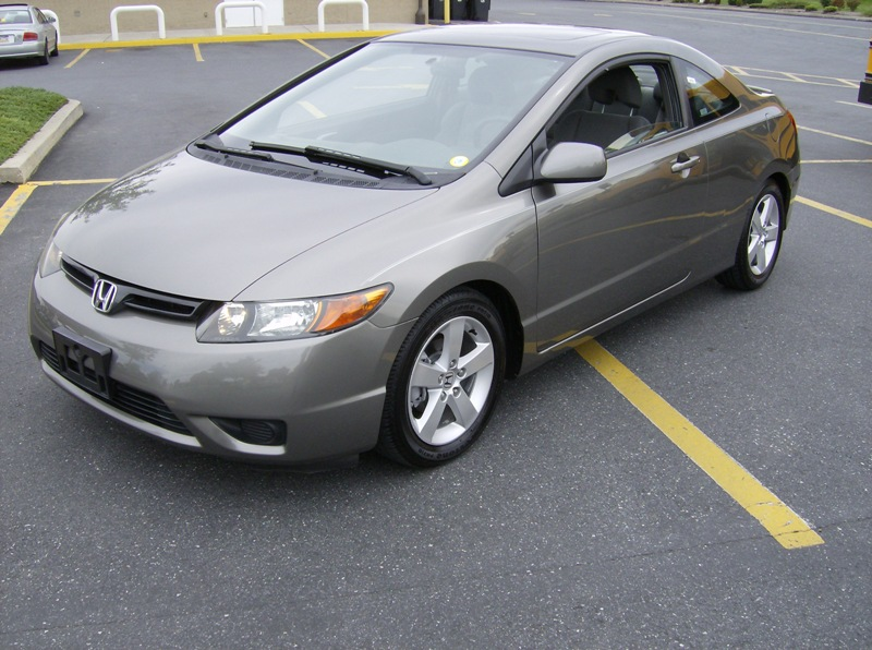 Used 2006 honda civic ex coupe 8 for Cheap used hondas for sale
